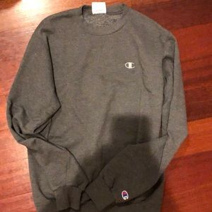 Champion authentic gray sweater